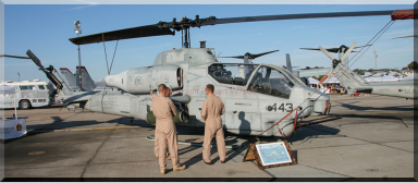 162538 / QT-443 AH-1W Super Cobra of HMLAT-303 based at Marine Corps Air Station Camp Pendleton