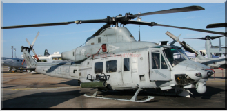 166757 / QT-507 - UH-1Y Venom of HMLAT-303 based at Marine Corps Air Station Camp Pendleton