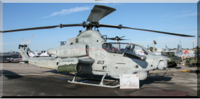 168001 / QT-613 - AH-1Z Viper of HMLAT-303 based at Marine Corps Air Station Camp Pendleton