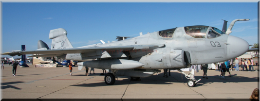 161348 / CY-03 - EA-6B Prowler of VMAQ-2 based at Marine Corps Air Station Cherry Point