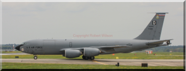 Quid 94 taxing onto the runway at RAF Mildenhall