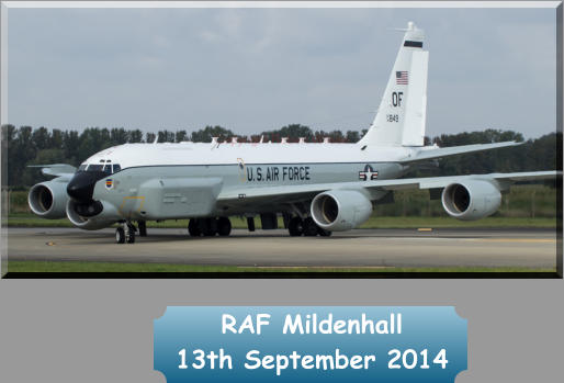RAF Mildenhall  13th September 2014