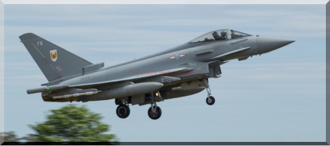 Jedi 12 returning to Lossiemouth (10/06/15)