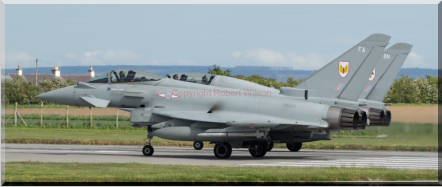 Psycho 23-24 holding for departure at Lossiemouth (10/06/15)